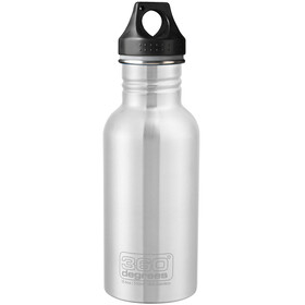 360° degrees Stainless Drink Bottle 0.5 l, steel